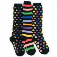 LittleMissMatched: coordinated but mismatched socks sold in sets of 3